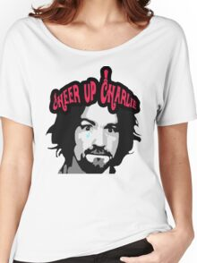 Cheer Up, Charlie!   Women's Relaxed Fit T-Shirt