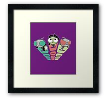 PowerPuff Girs Framed Print