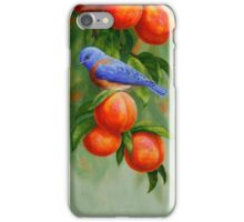Bluebird and Peaches Phone Case iPhone Case/Skin