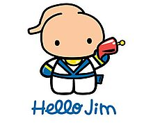 Hello Jim Photographic Print