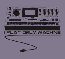 I Play Drum Machine Kids Tee