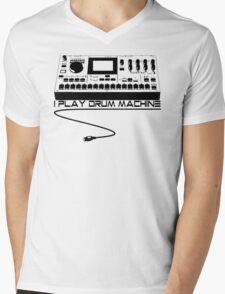 I Play Drum Machine Mens V-Neck T-Shirt