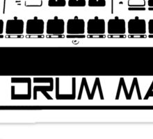 I Play Drum Machine Sticker