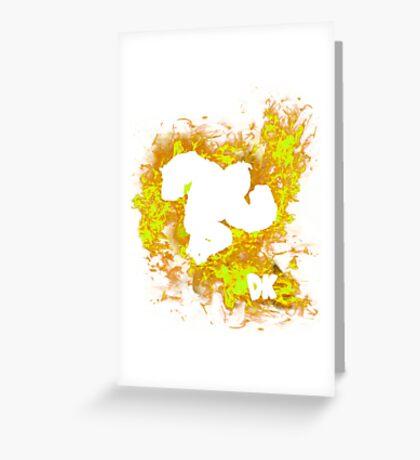 Donkey Kong Spirit Greeting Card