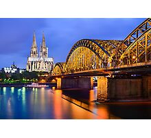 Cathedral of Cologne, Germany Photographic Print