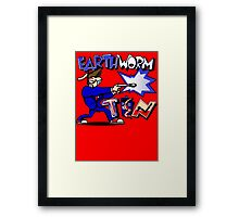 Earthworm Ten Framed Print