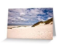 Clouds over the North Sea. Greeting Card