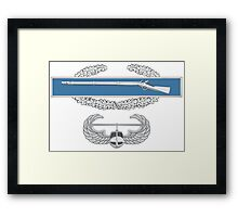 Combat Infantry Badge and Air Assault Framed Print
