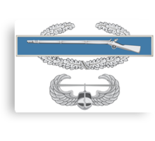 Combat Infantry Badge and Air Assault Canvas Print