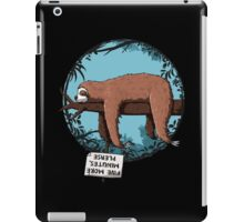 Lazy Song of Sloth iPad Case/Skin