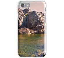 Rocky Island, Great Falls, Maryland iPhone Case/Skin