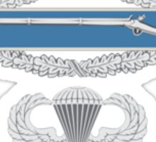 Combat Infantry Badge and Airborne Sticker