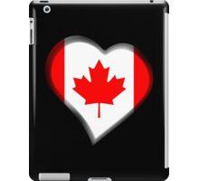 Canadian Flag - Canada - Heart iPad Case/Skin