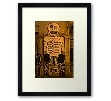 Shadow Boxer Framed Print