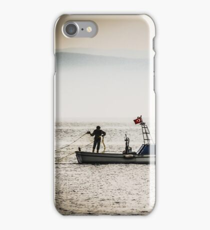 Turkish Fisherman on the Sea iPhone Case/Skin