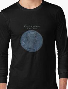 Ancient Roman Coin - AUGUSTUS Long Sleeve T-Shirt