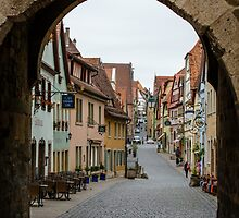 Rothenburg ob der Tauber, Bavaria, Germany by fotosic