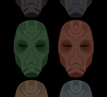 Mask Collection by Isaac Dawley
