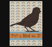 Put a Bird On It Kids Tee
