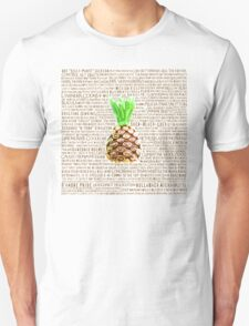 Psych Burton Guster Nicknames - Television Show Pineapple Room Decorative TV Pop Culture Humor Lime Neon Brown Unisex T-Shirt