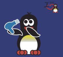 Bathroom Penguin - Blow Dry by jimcwood
