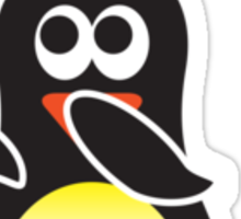 Bathroom Penguin - Blow Dry Sticker