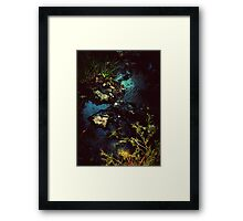 Life is Not Black and White Framed Print