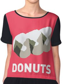 Jelly Donut Chiffon Top