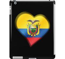 Ecuadorian Flag - Ecuador - Heart iPad Case/Skin