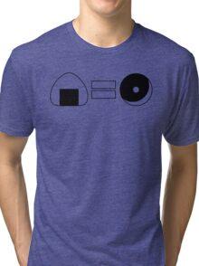 Onigiri = Donut Tri-blend T-Shirt