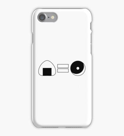 Onigiri = Donut iPhone Case/Skin