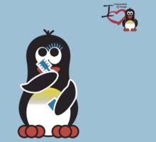 Domestic Penguin - Eyeliner Kids Clothes