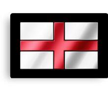 English Flag - England - Metallic Canvas Print