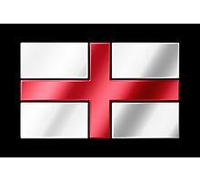 English Flag - England - Metallic Photographic Print