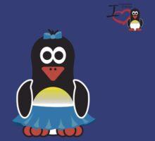 Bathroom Penguin - Ladies by jimcwood