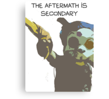 The Aftermath is Secondary Canvas Print