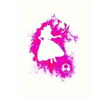 Peach Spirit Art Print