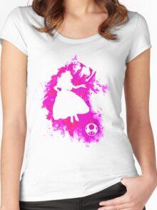 Peach Spirit Women's Fitted Scoop T-Shirt