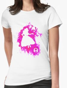 Peach Spirit Womens Fitted T-Shirt