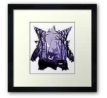 POISONED FOREST Framed Print
