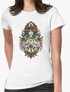 Gypsy crystal ball Womens Fitted T-Shirt
