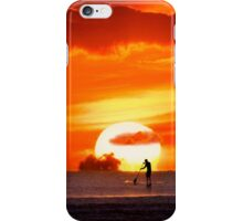iPhone Case. Sunset Paddling iPhone Case/Skin