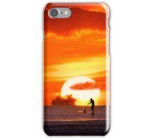 iPhone Case. Sunset Paddling iPhone Case/Skin