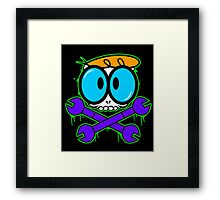 Death by Science Framed Print