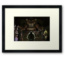 Five Night's at Freddy's Framed Print