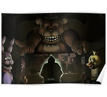 Five Night's at Freddy's Poster