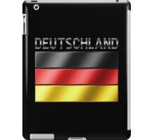 Deutschland - German Flag & Text - Metallic iPad Case/Skin