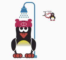 Bathroom Penguin - Shower by jimcwood