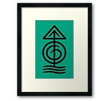 Magisterium Quincunx Symbol Framed Print