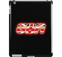 GBR - Great Britain - Flag Logo - Glowing iPad Case/Skin